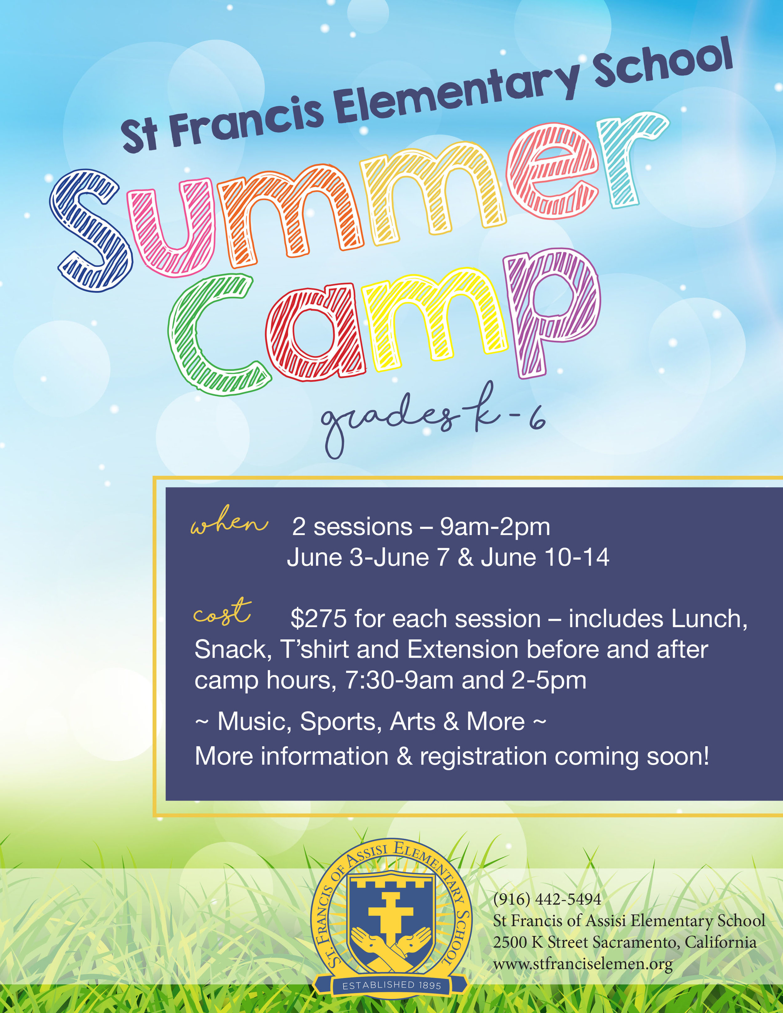 Elementary School Summer Camp