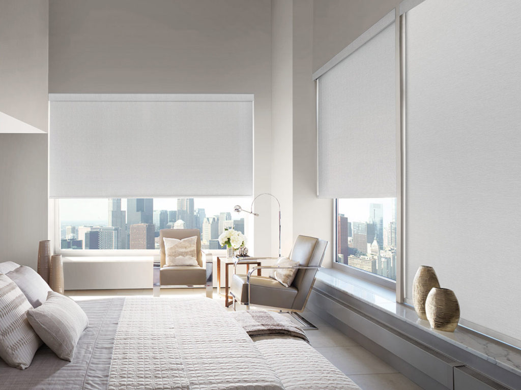 Roller Shades - Our Roller Shades are loved for their clean appearance, versatility and premium style. They look equally as beautiful in a minimalist space as they do under drapery panels in a traditional setting. Mandel's Roller Shades are designed and custom-crafted in the U.S. with the highest level of quality.
