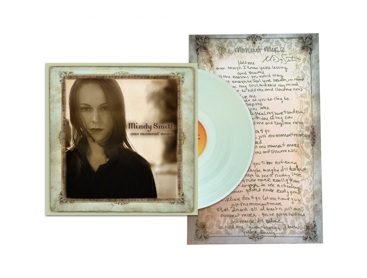 One Moment More Vinyl + Handwritten Lyrics Bundle