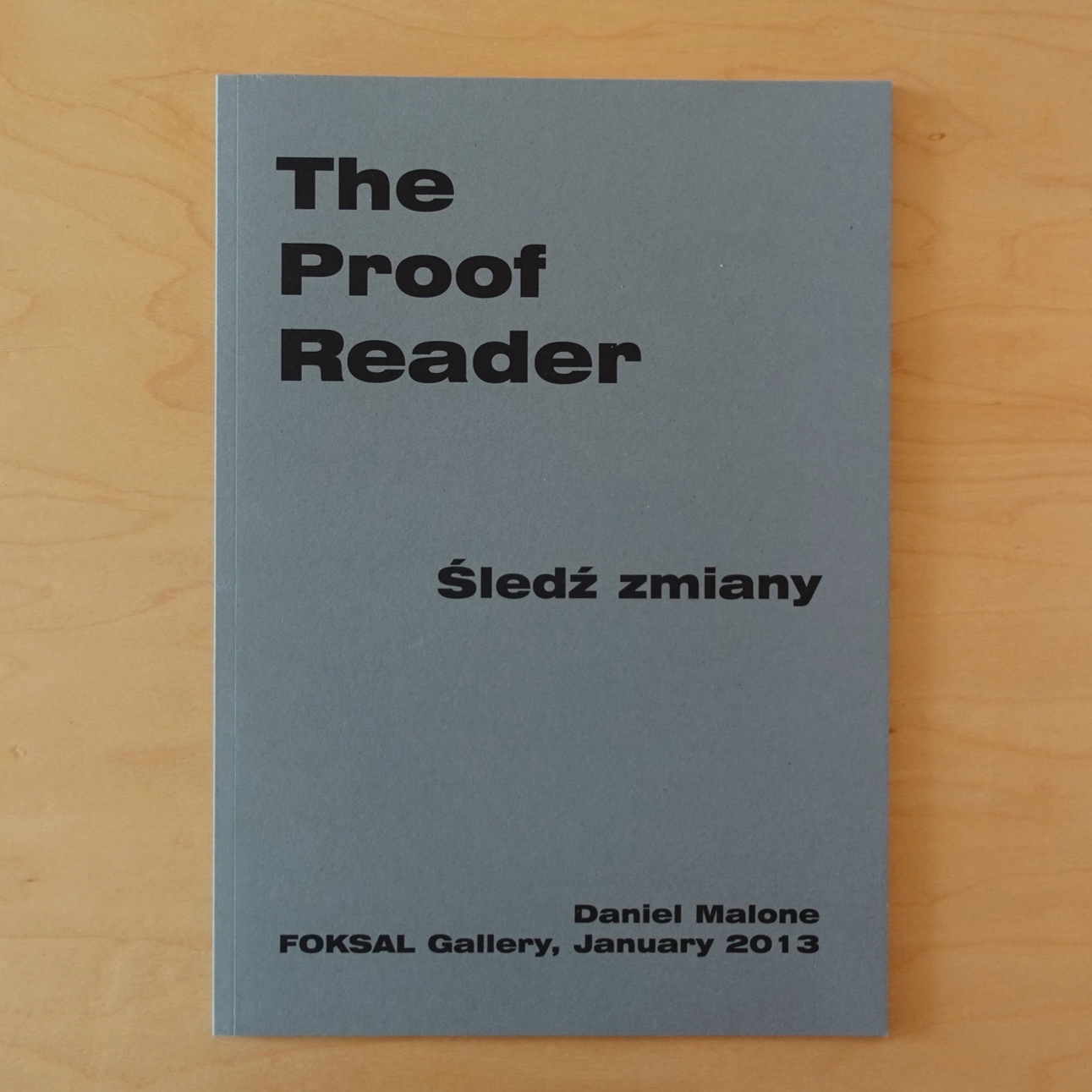 The Proofreader