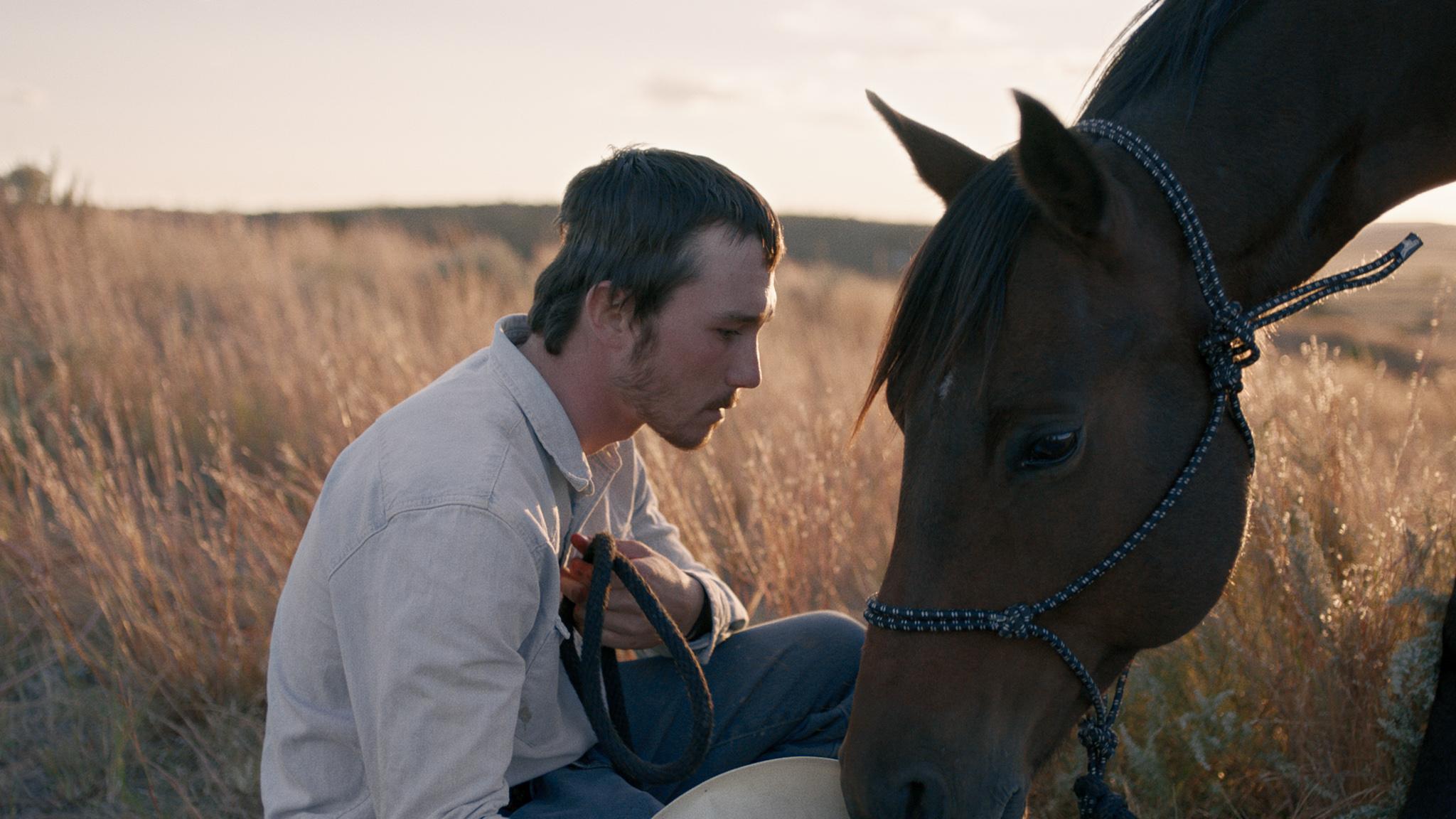 "Brady Jandreau stars in ""The Rider."" (Photo courtesy Sony Pictures Classics)"