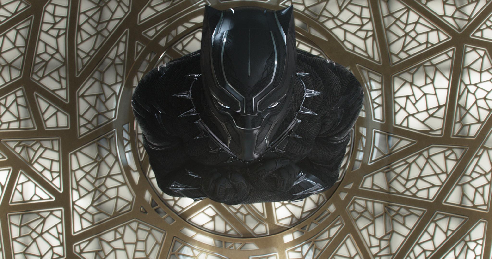 "Chadwick Boseman in ""Black Panther."" (Photo courtesy Disney/Marvel)"
