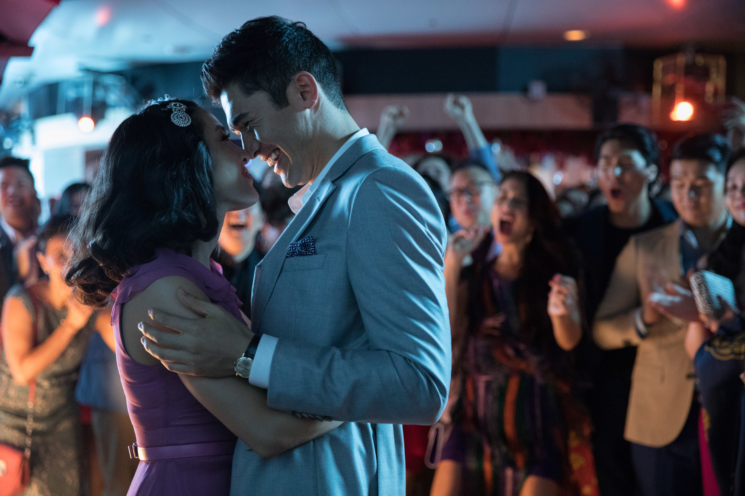 "Constance Wu and Henry Golding in ""Crazy Rich Asians."" (Photo courtesy Warner Bros./Sanja Bucko)"