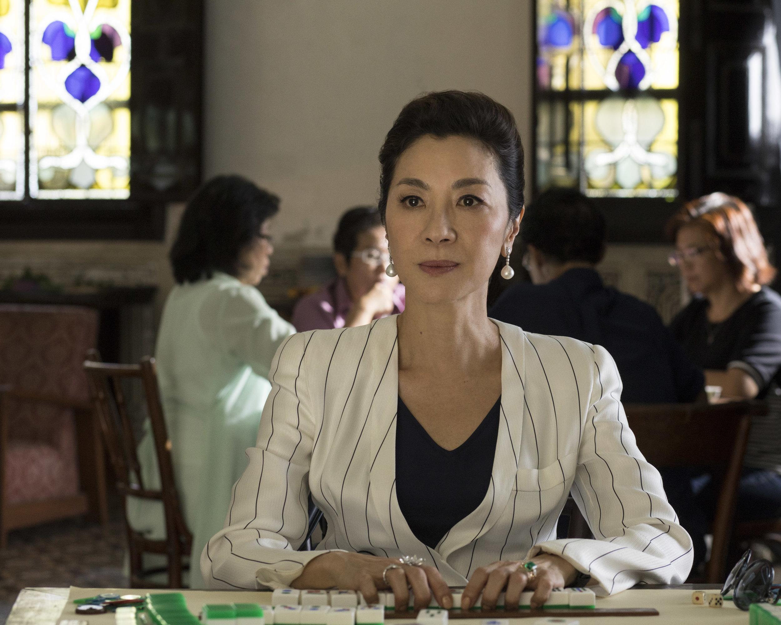 """Michelle Yeoh in """"Crazy Rich Asians."""" (Photo courtesy Warner Bros./Sanja Bucko)"""