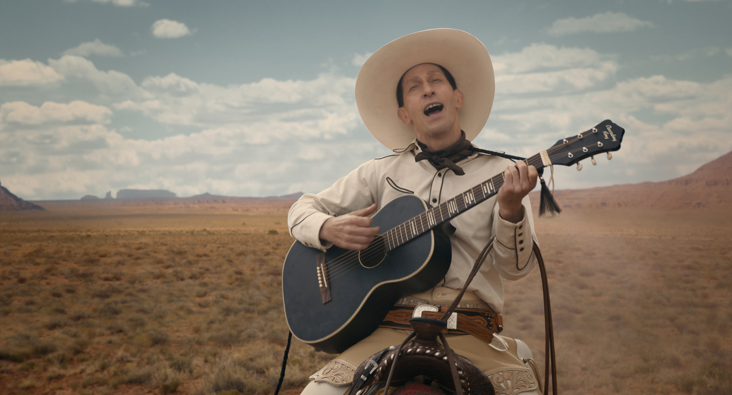 """Tim Blake Nelson in """"The Ballad of Buster Scruggs."""" (Photo courtesy Netflix)"""