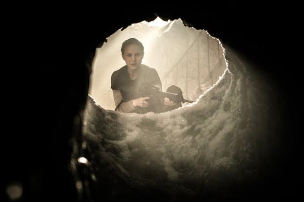"Natalie Portman in ""Annihilation."" (Photo courtesy Paramount)"
