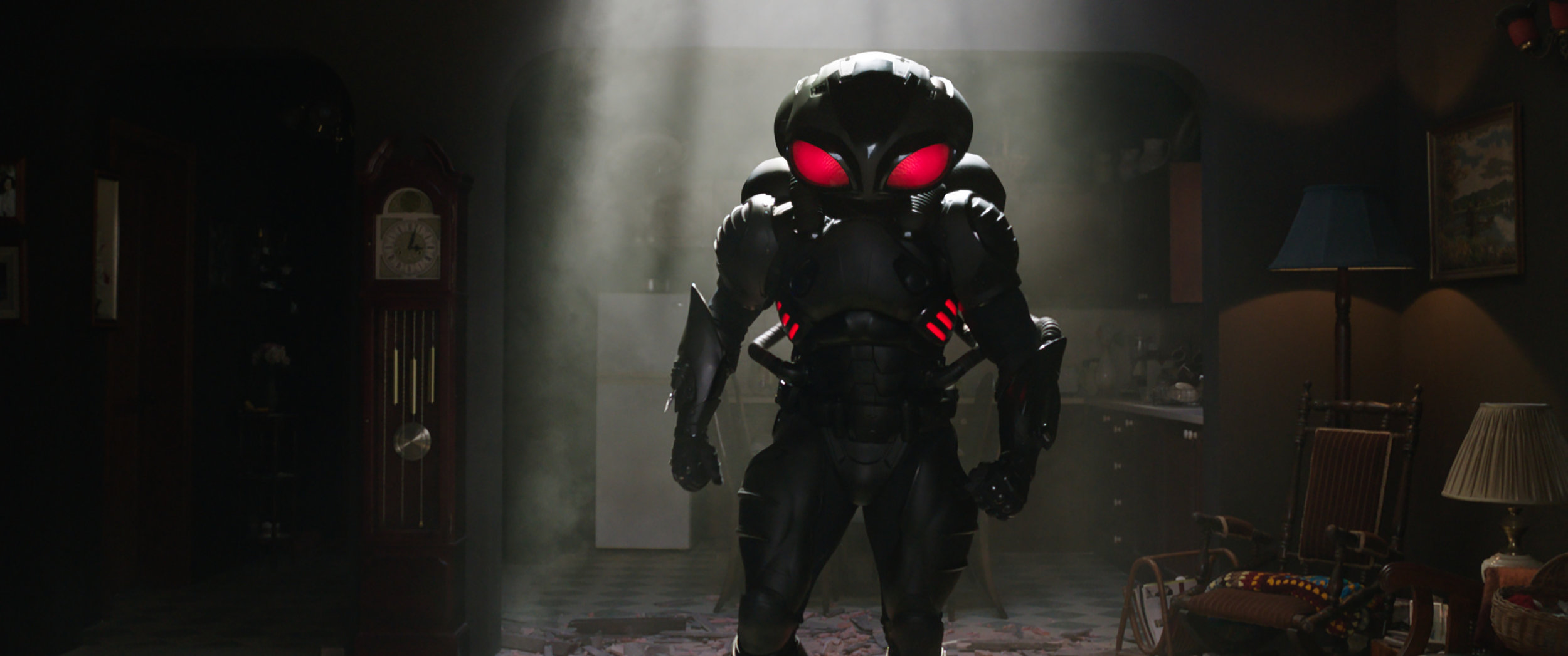 "Yahya Abdul-Mateen II as Black Manta in ""Aquaman."" (Photo courtesy Warner Bros.)"