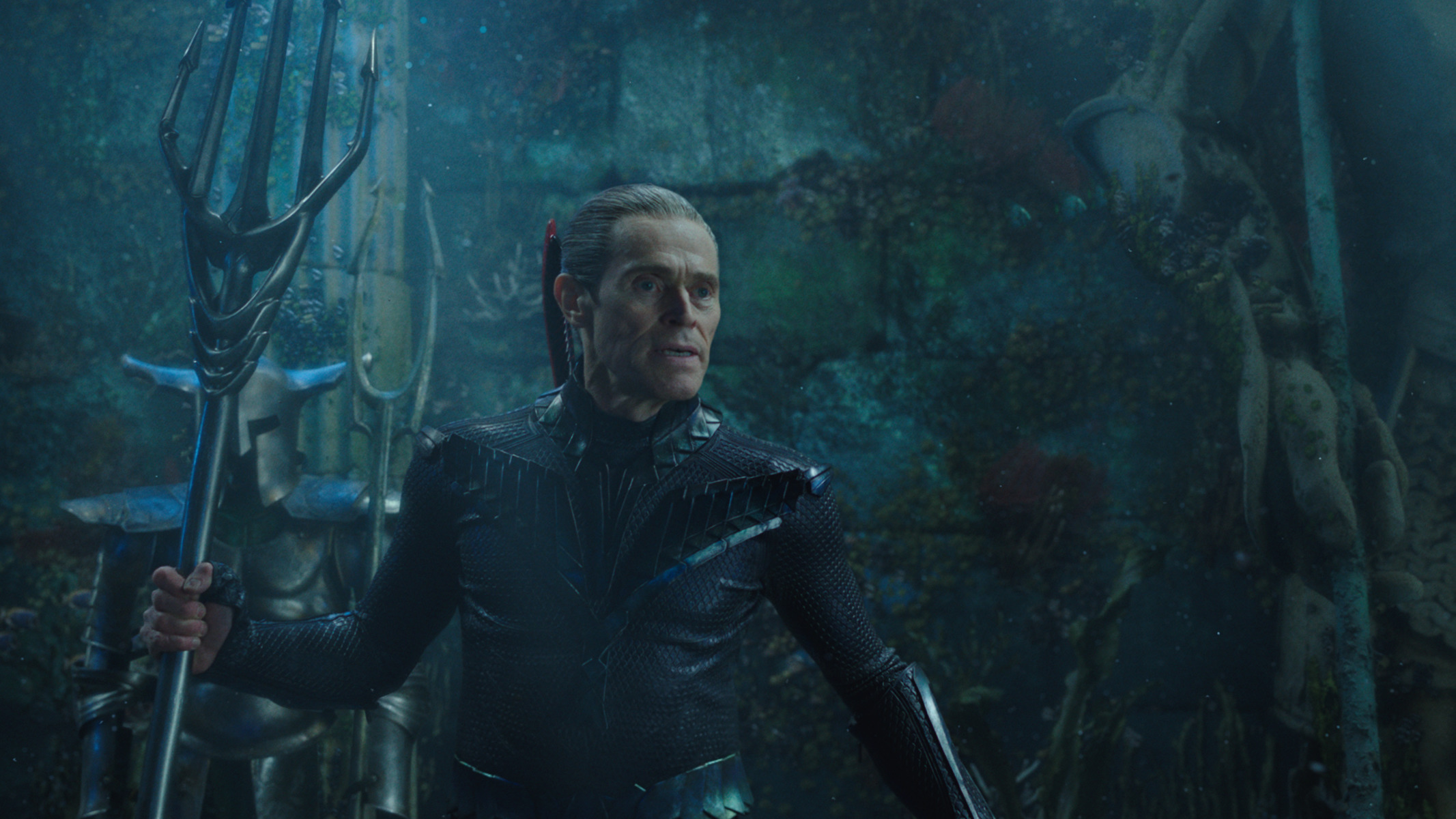 "Willem Dafoe in ""Aquaman."" (Photo courtesy Warner Bros.)"