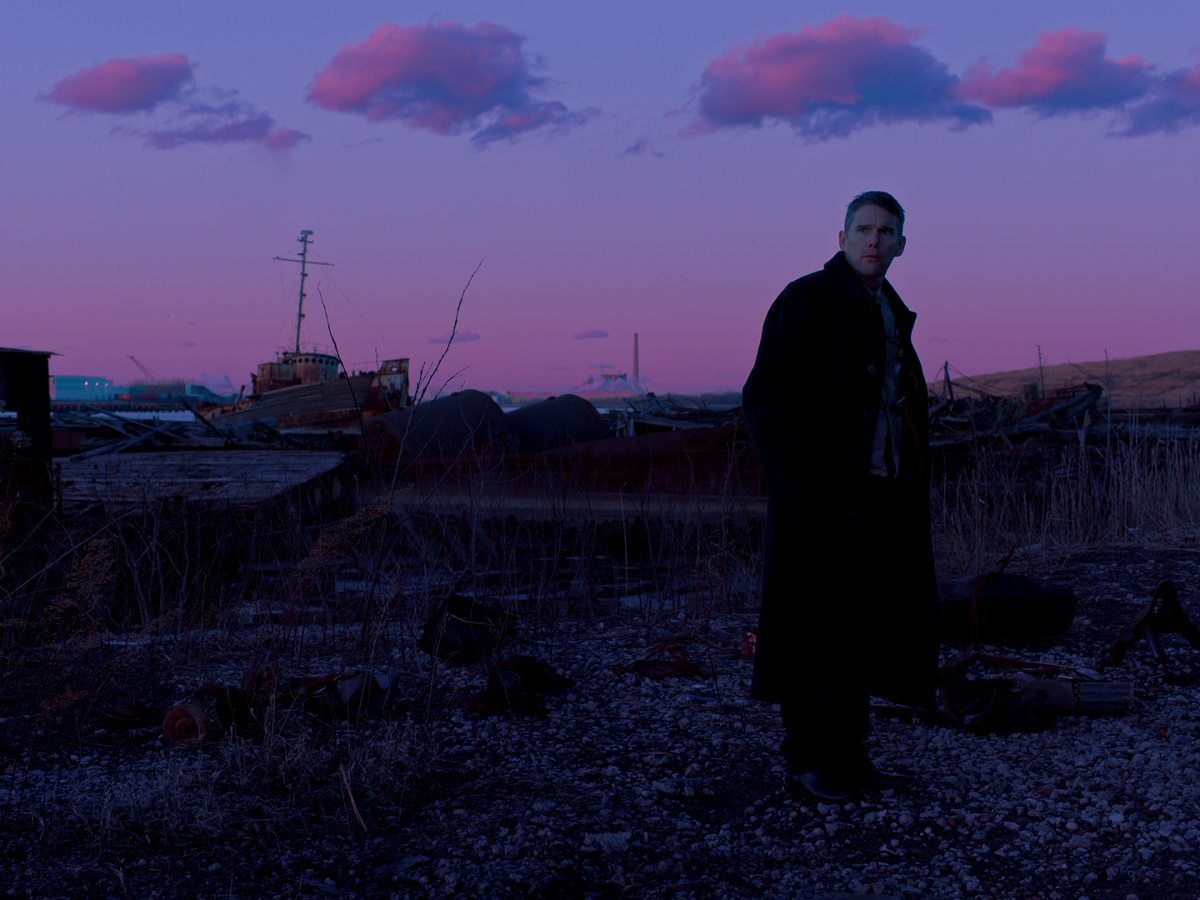 "Ethan Hawke in ""First Reformed."" (Photo courtesy A24)"