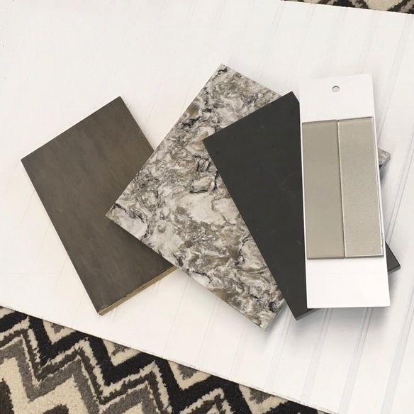 Material & Finish Selections -