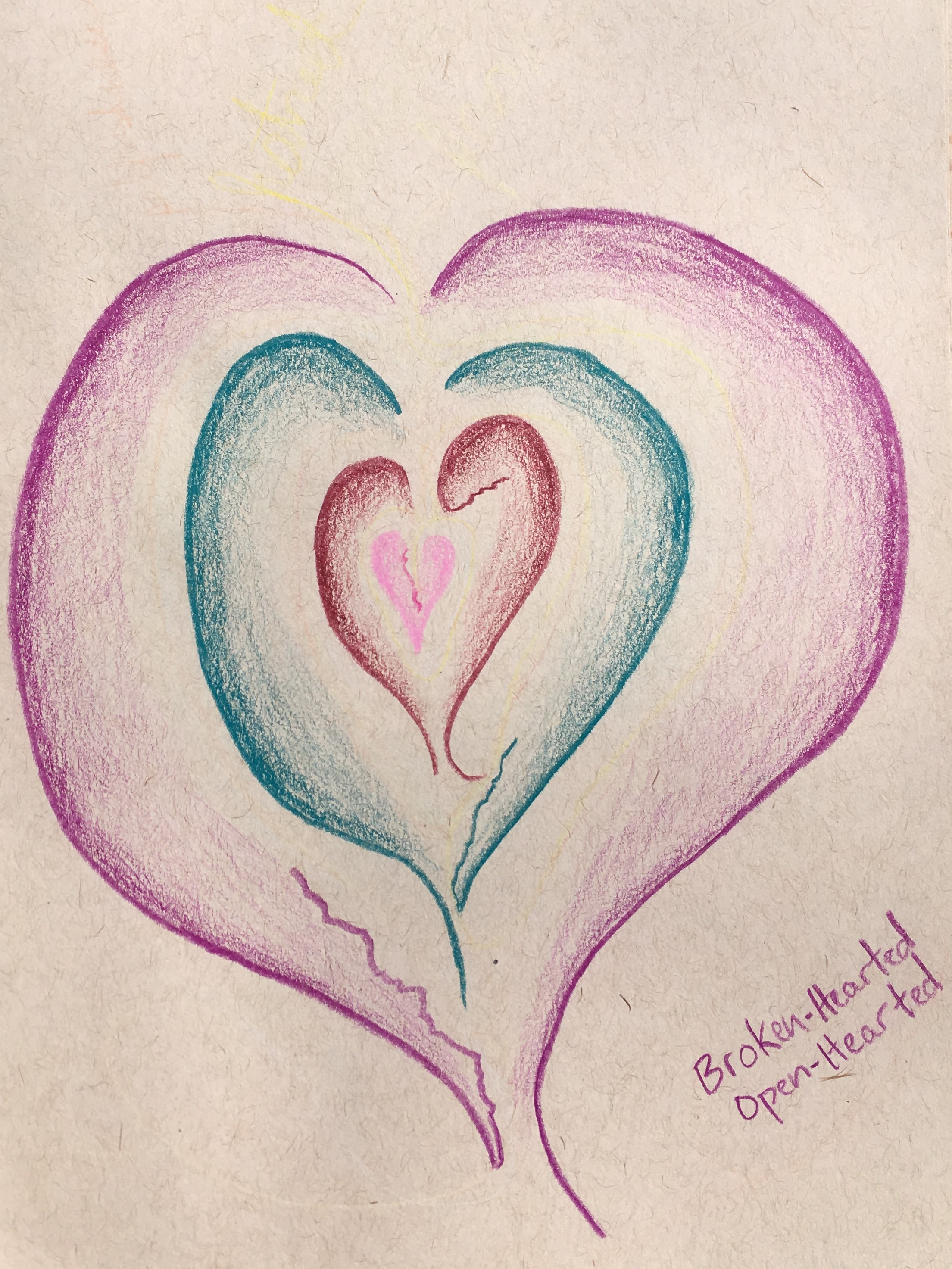 I created this image in October 2015. It was one of the first heart images I ever drew.