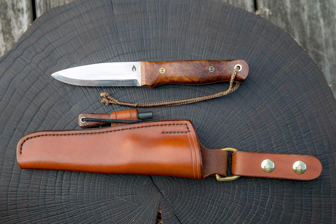 Bushcraft knife by David Ryan Scott