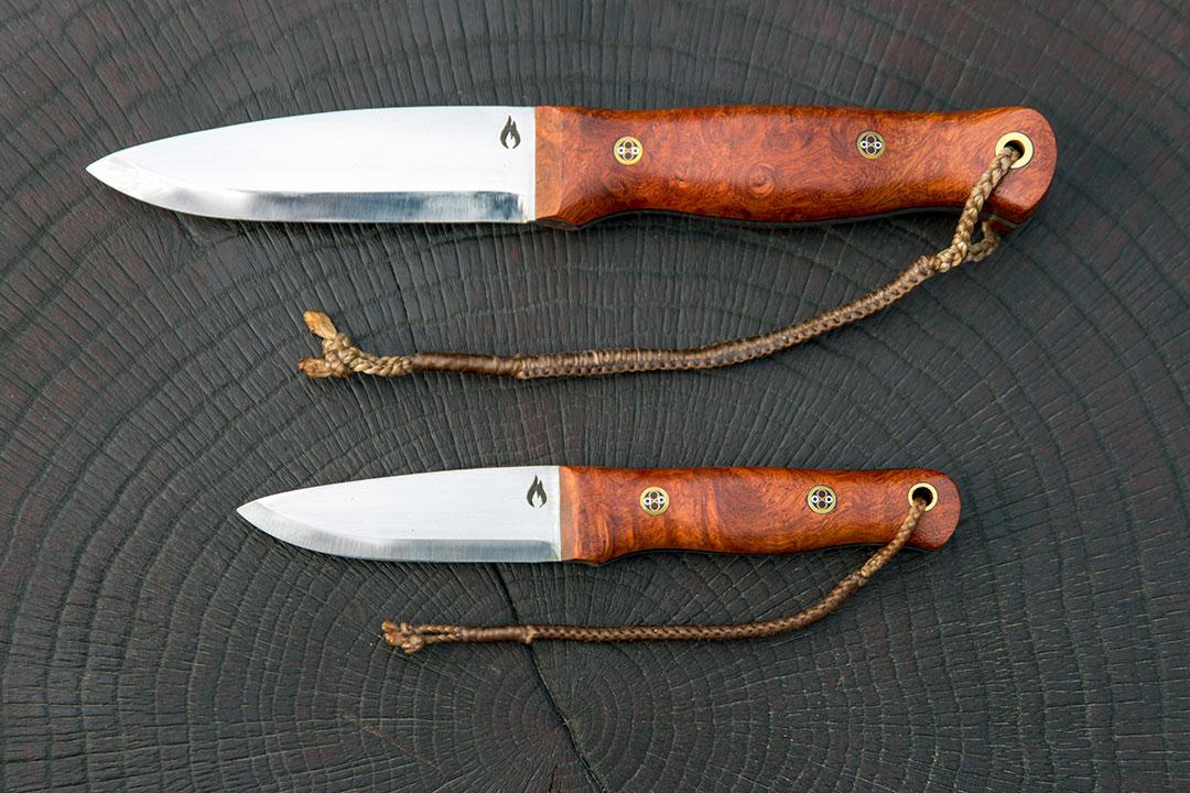 Bushcraft knives by David Ryan Scott