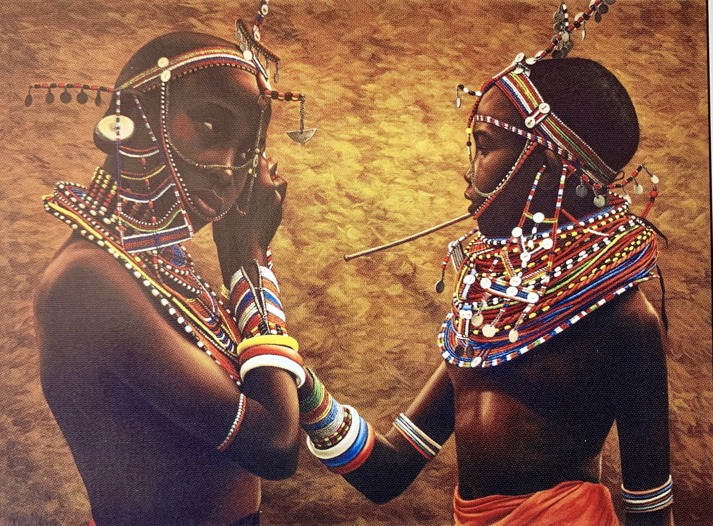 Artwork by Cleophus. Title: Girlfriends Before The Dance