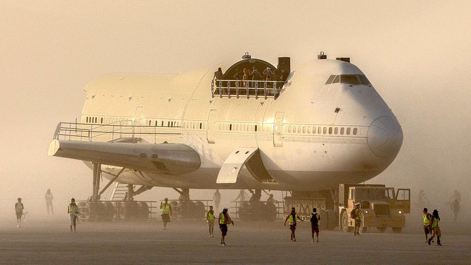 The 747 Project at Burning Man