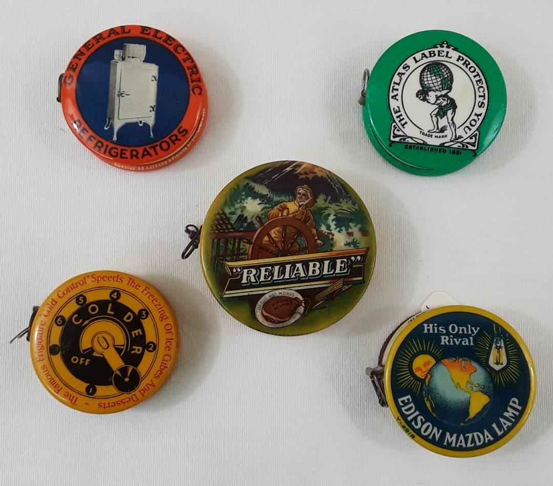 CELLULOID TAPE MEASURES