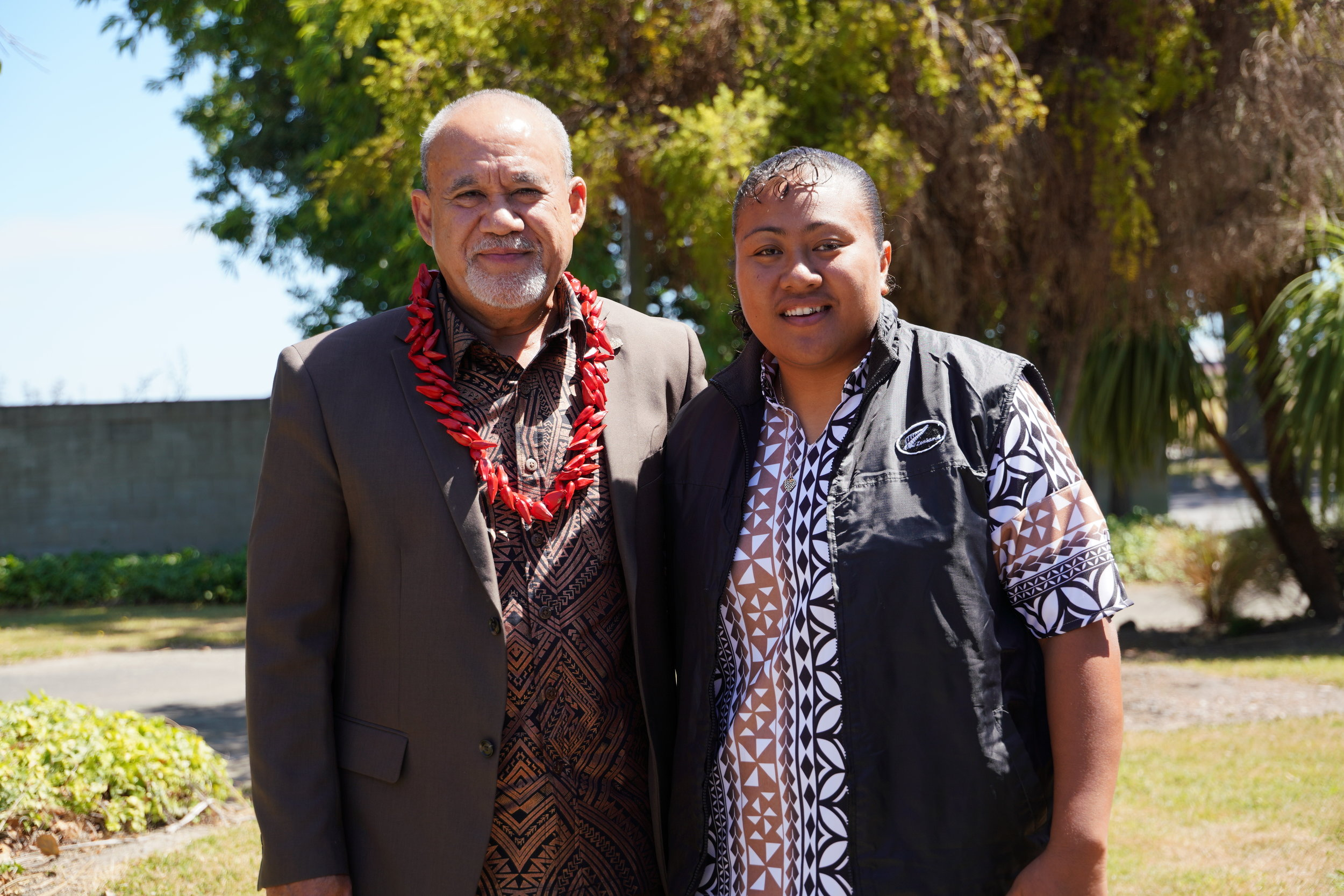 Samoan High Commissioner His Excellency Leasi Papali'i Tommy Scanlan. and Ma'aola Fiupepe (002).JPG