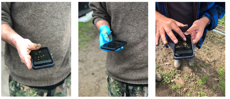 "- ""On-farm testing across all conditions such as rain, wind and mud gave us insight into how a farmer interacts with the app and how we can make the process and interactions as seamless and as simple as possible"""