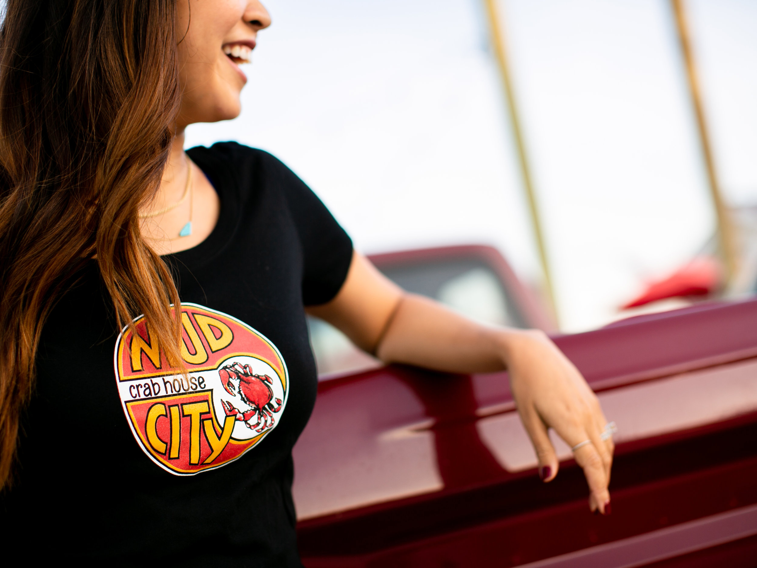 Mud City shirts are in stock at our Tide Table online store. Photo: Ryan Johnson