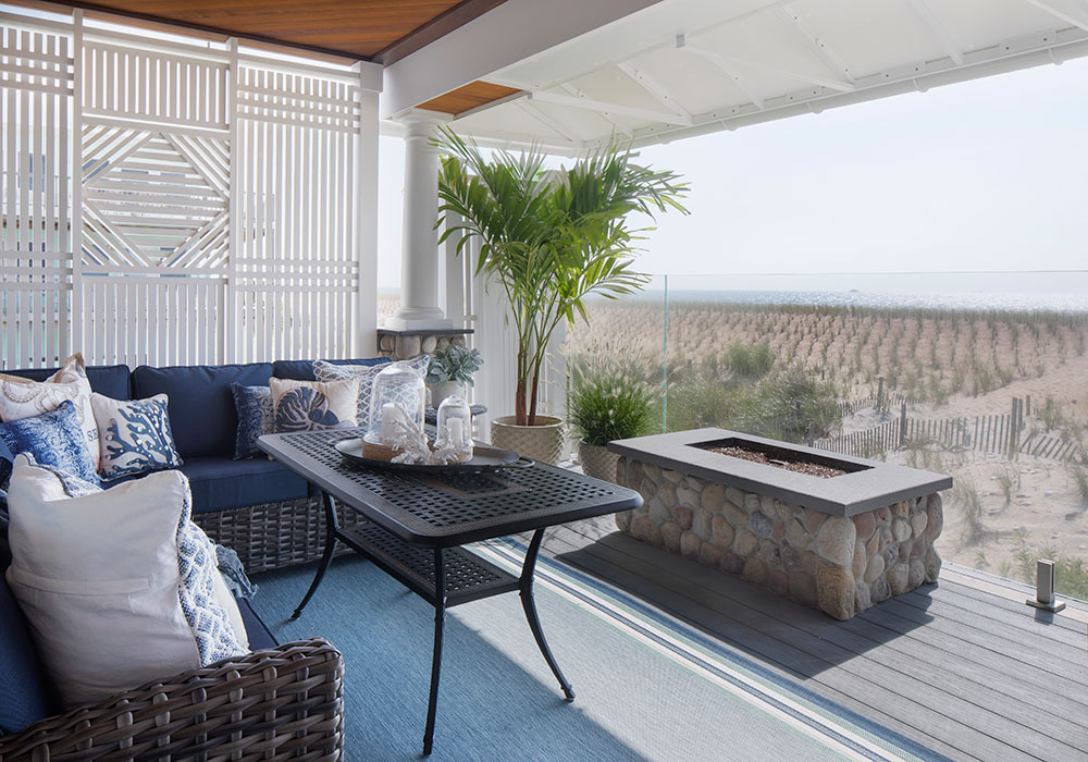 Landscaping dreams realized on the Island. Photo: John Martinelli