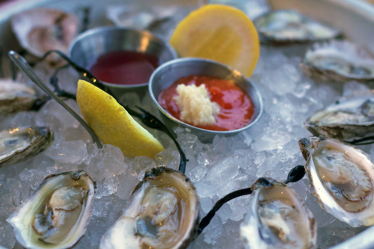 Oysters have always been a raw bar staple at Mud City.