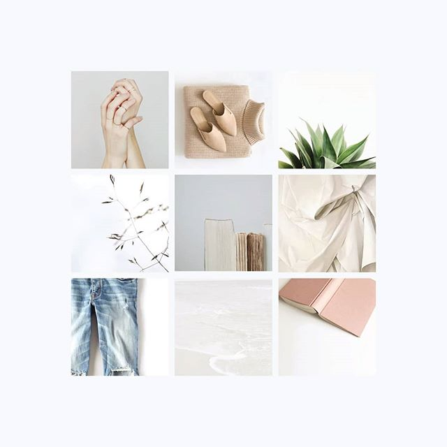 MOOD / Curating a mood board for our current client. Love how it's looking. 😍