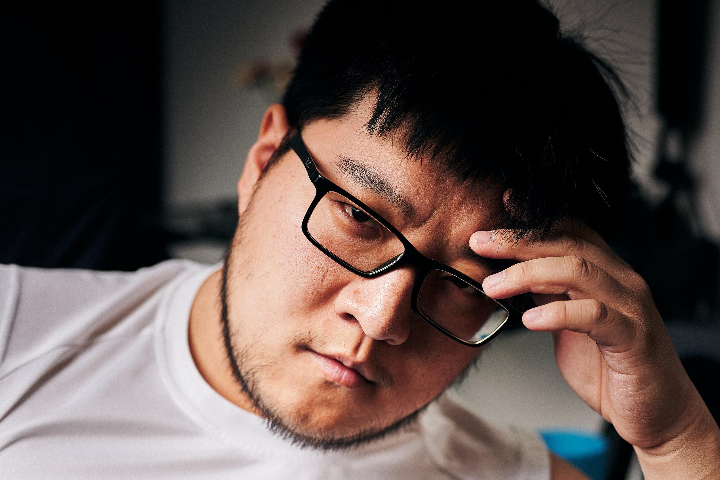 ©2019 Michael Jin. Self portrait.
