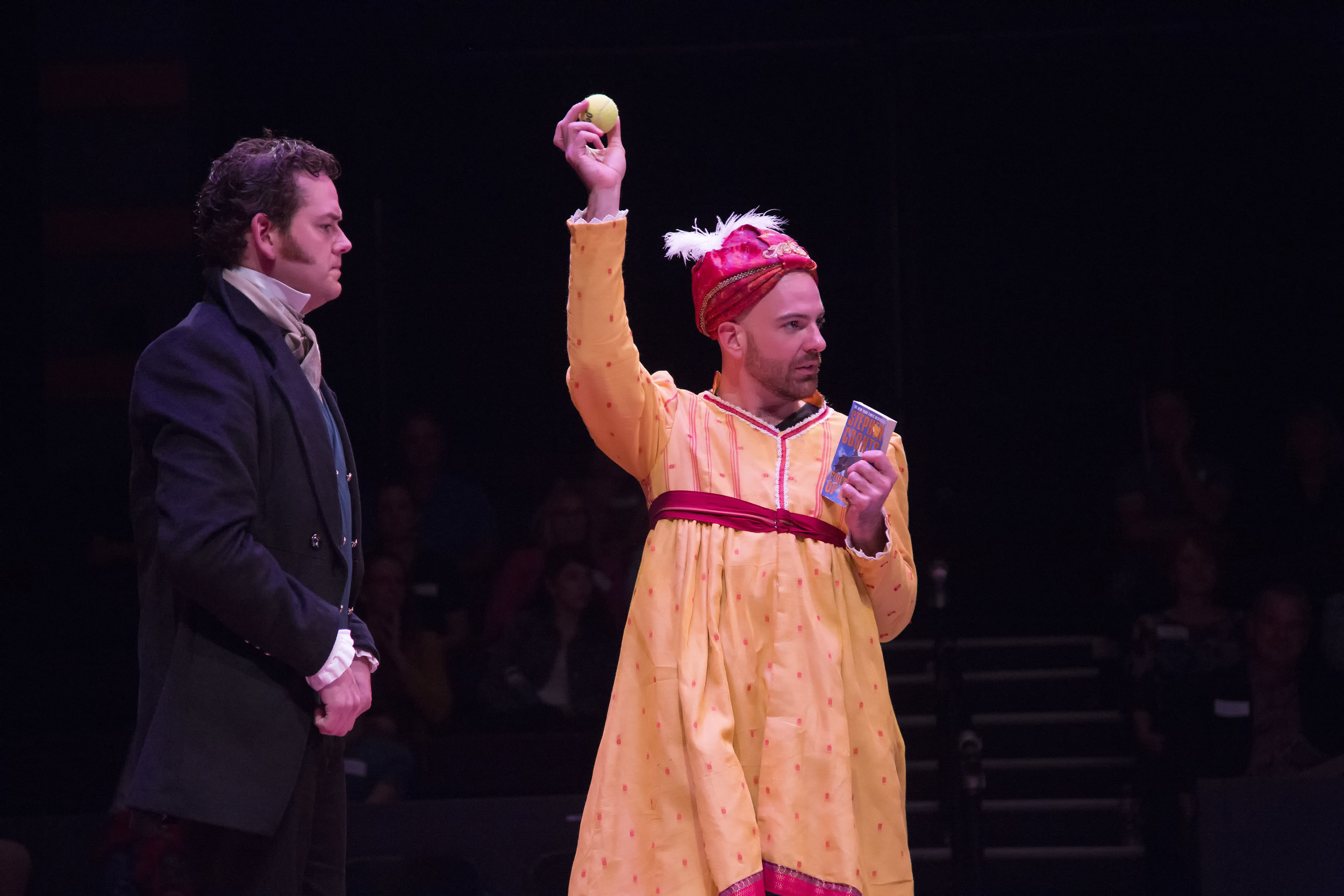 John-Michael Marrs and Brandon Potter in PRIDE AND PREJUDICE at WaterTower Theatre photo by Jason Anderson.jpg
