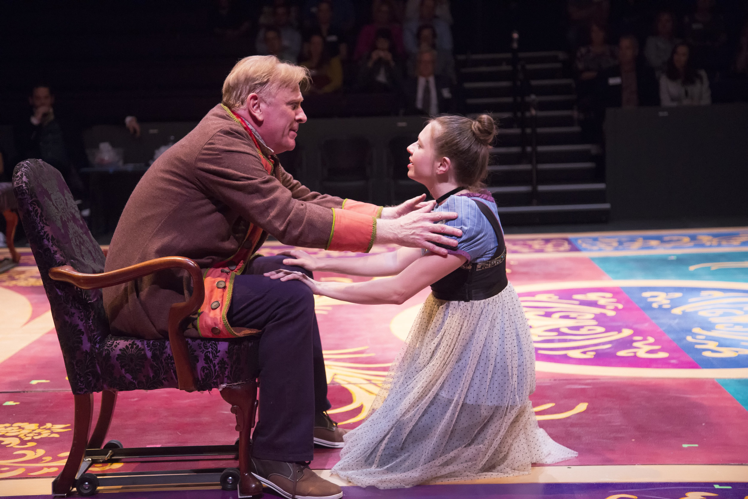 Bob Hess and Jenny Ledel in PRIDE AND PREJUDICE at WaterTower Theatre photo by Jason Anderson.jpg