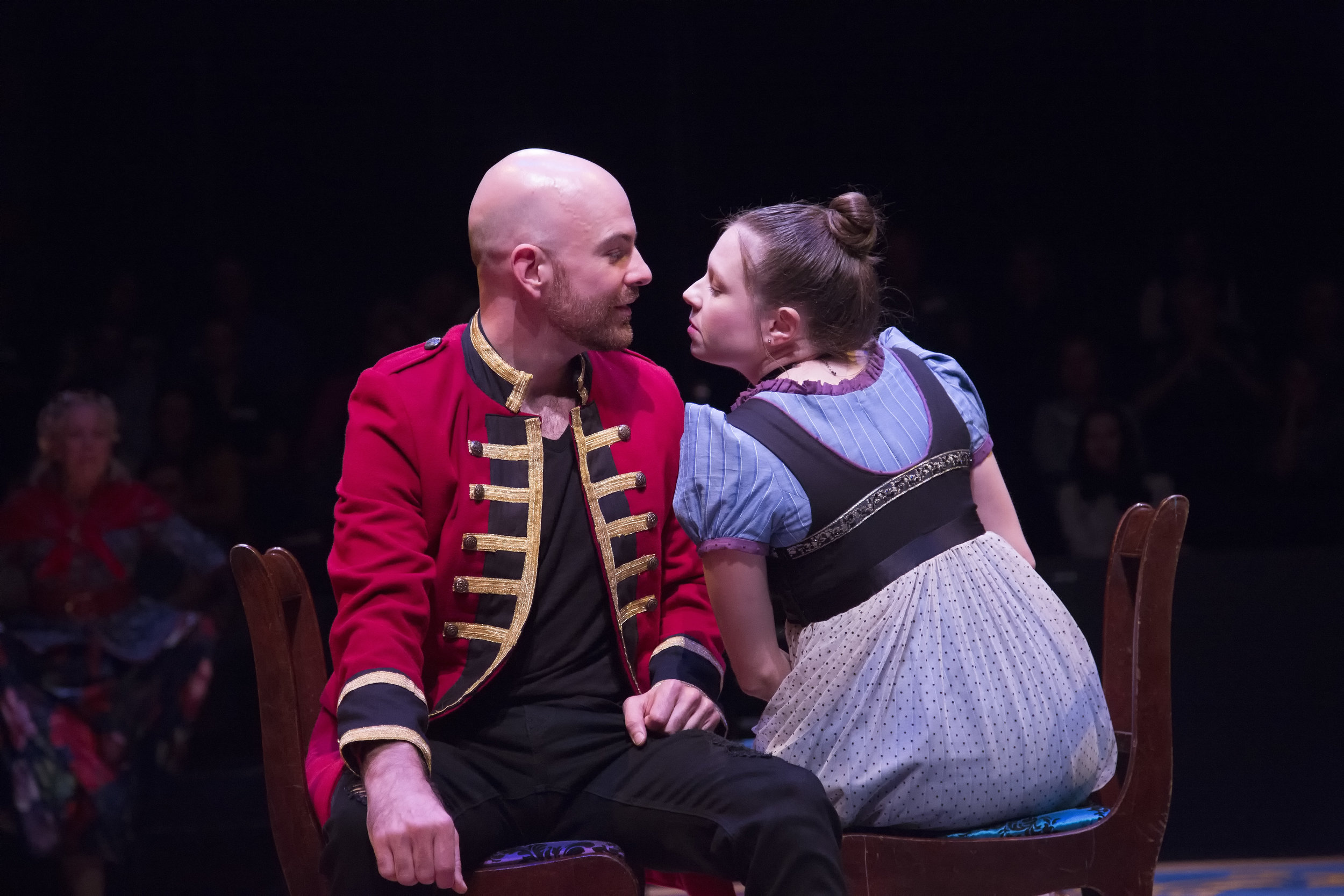 Brandon Potter and Jenny Ledel in PRIDE AND PREJUDICE at WaterTower Theatre photo by Jason Anderson (2).jpg