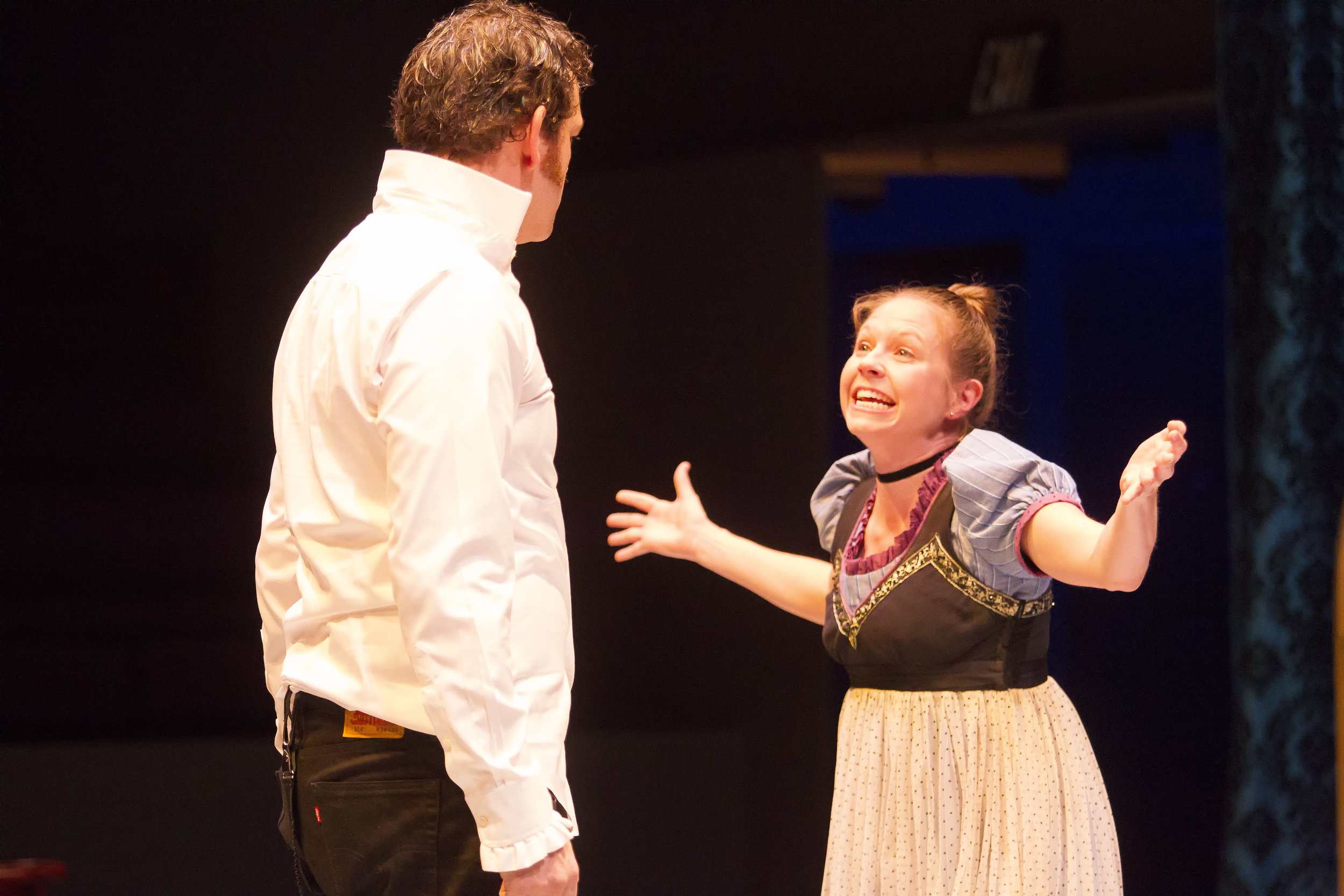 John-Michael Marrs and Jenny Ledel in PRIDE AND PREJUDICE at WaterTower Theatre photo by Jason Anderson.jpg