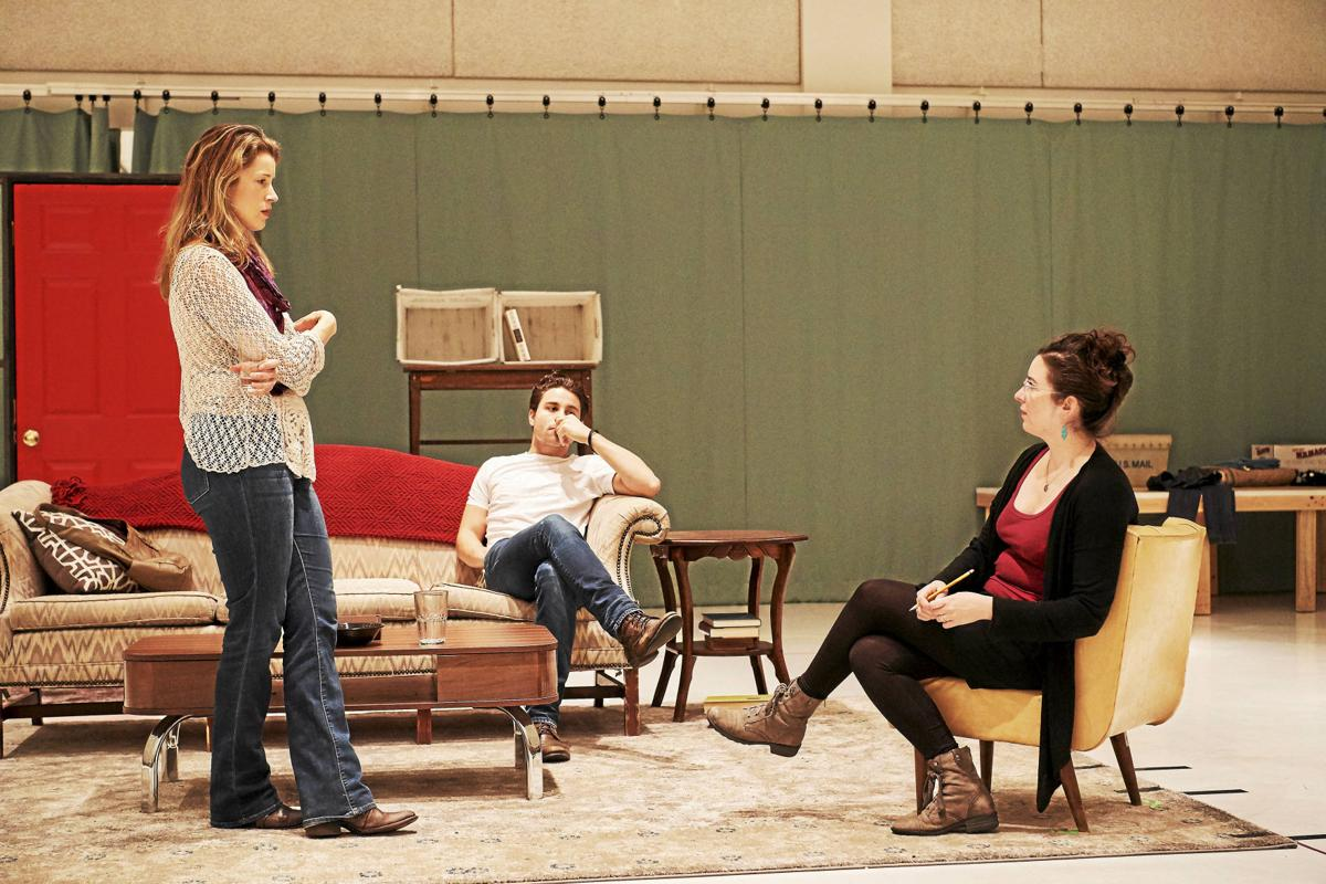 In Rehearsal at the Cleveland Play House, 2016