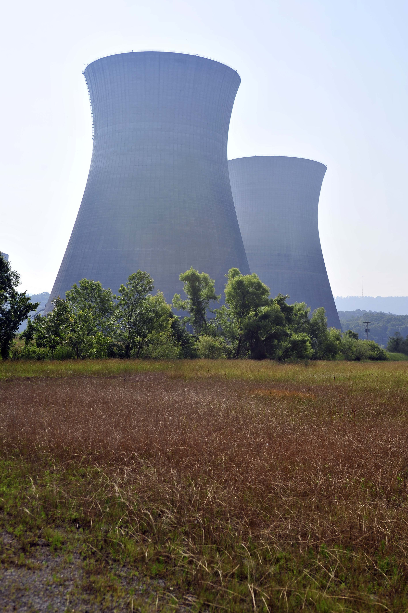 The cooling towers at the non-operational Bellefonte Nuclear Power Plant June 2, 2011 in rural Hollywood, Alabama.