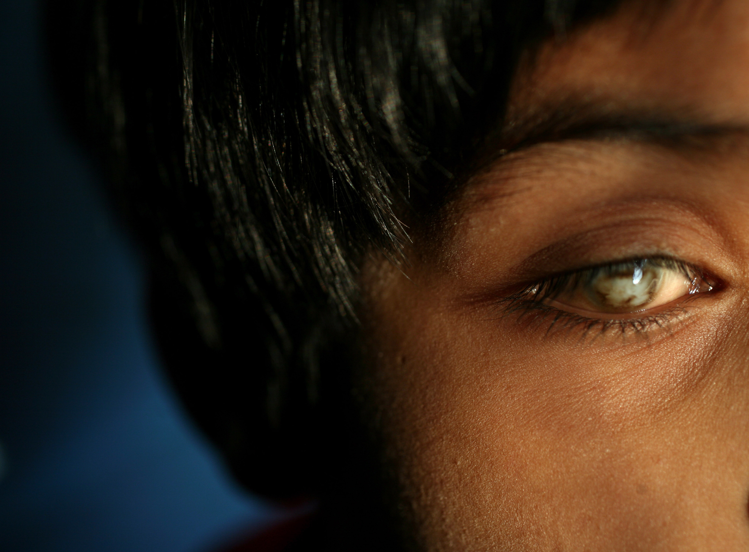 Kajal Zaidi, a 5-year-old blinded by child abuse and abandoned by her parents in a train station in India, was rescued by a small shelter home in Allahabad, India. In 2007, churchgoers in Nashville, Tennessee brought her to the U.S., for specialized eye-surgery and attempted to find her an adopted family. Her journey was fraught with complications and heartbreak.   Kajal Zaidi, age 5, at the Snehlayam Shelter Home.