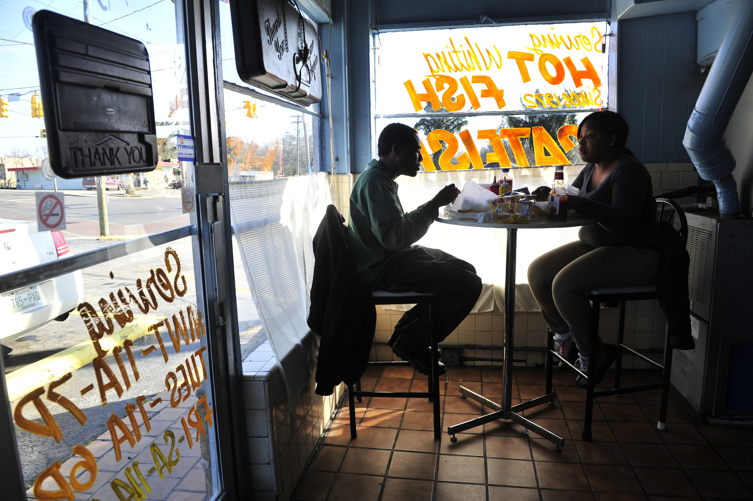 Ed's Fish, a North Nashville icon, has been serving fried fish sandwiches and other fare since 1972.