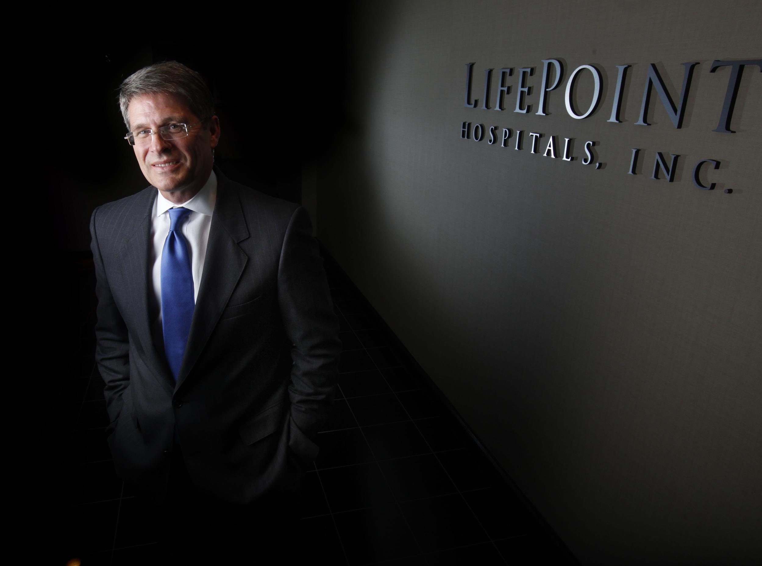Bill Carpenter, CEO of LifePoint Hospitals in Nashville, Tenn.