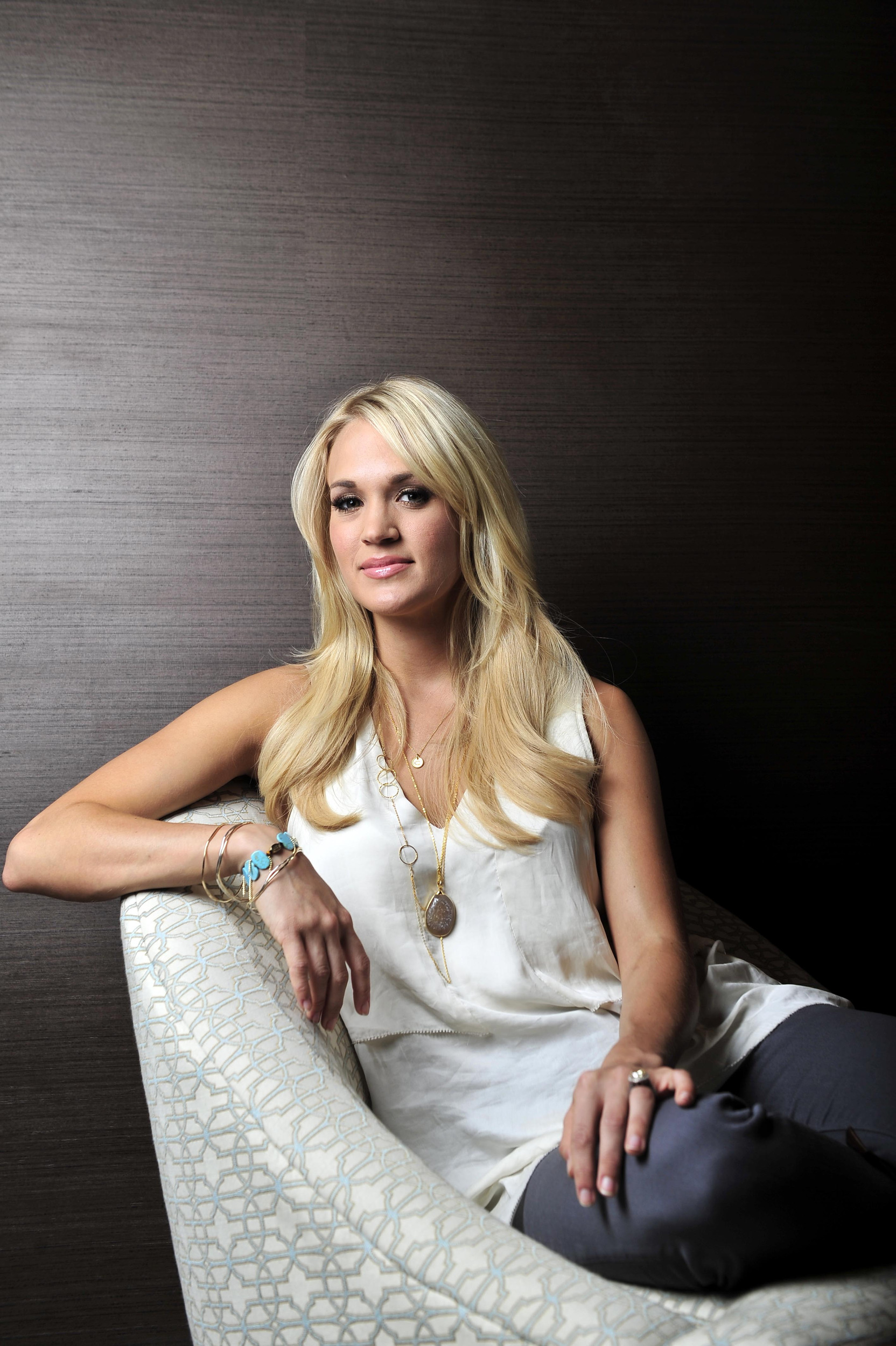 Carrie Underwood backstage at the Grand Ole Opry.