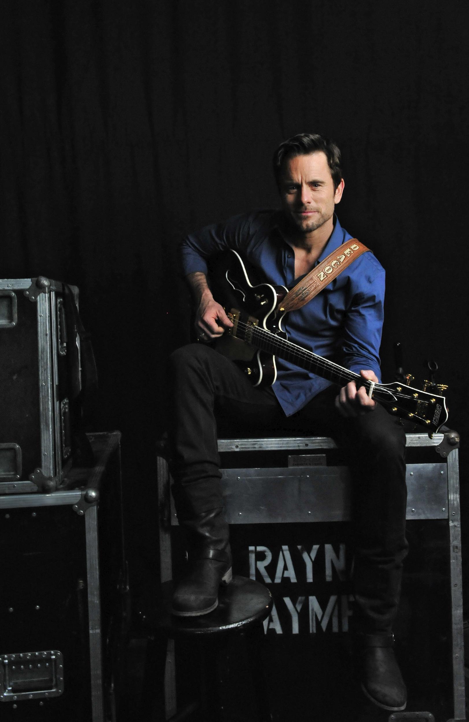 Charles Esten on the set of the TV show Nashville in Nashville, Tenn.
