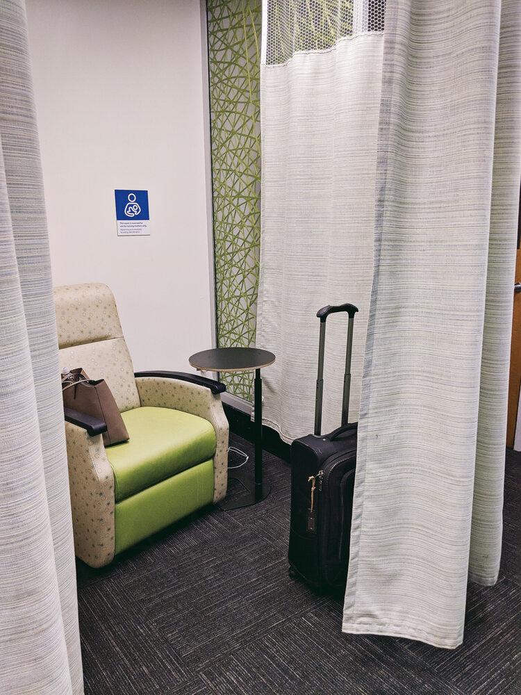 Nursing mothers room at Charlotte Douglas International Airport (CLT)