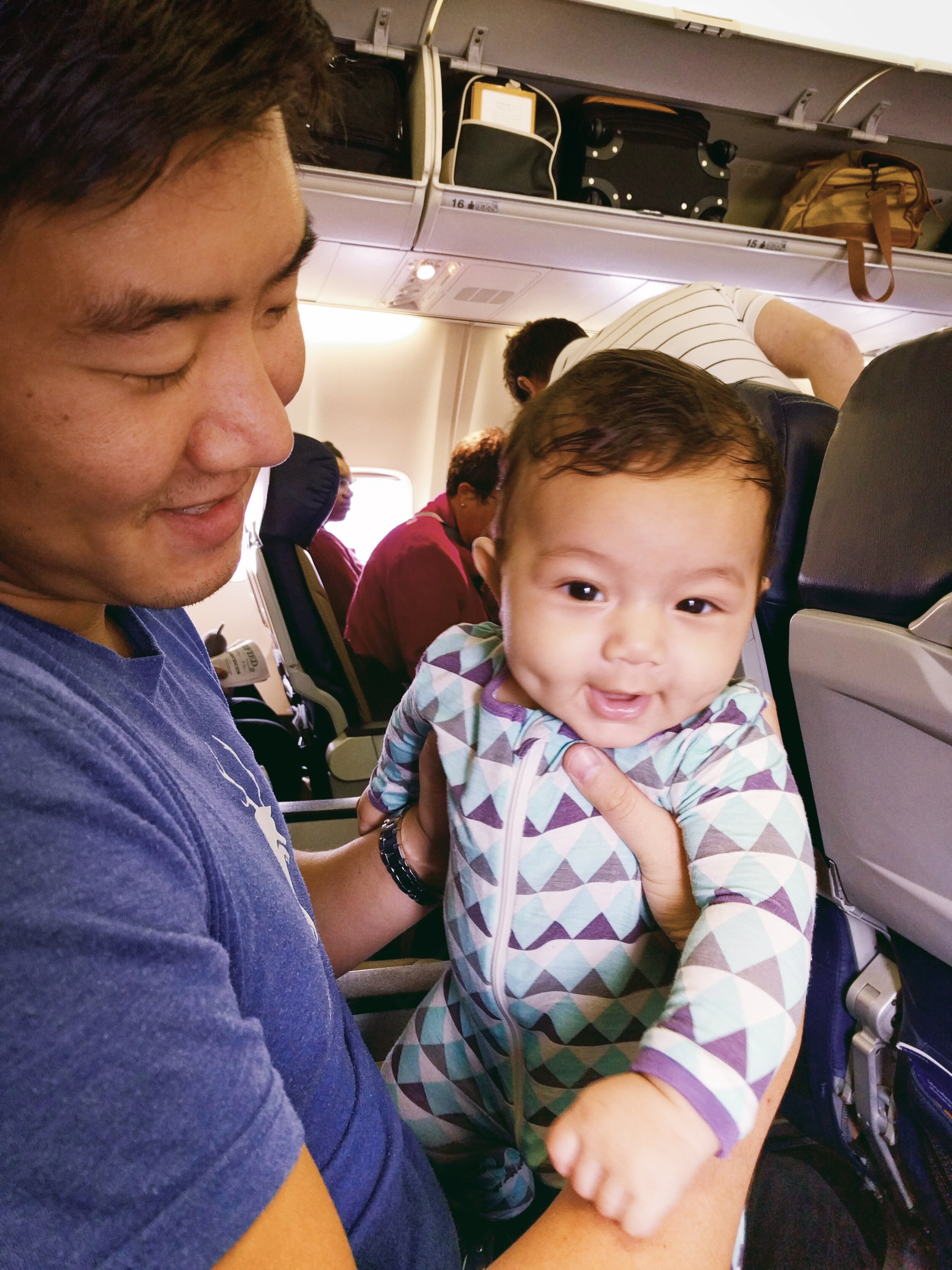 Preparing For Your Baby S First Flight Familee Travel