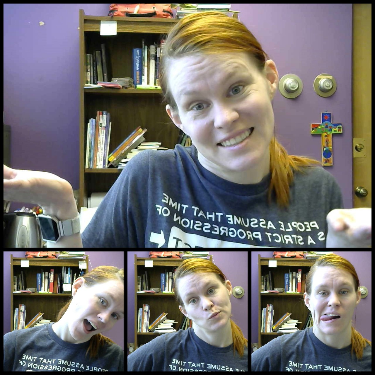 I happened to be building this site the same day I got a new webcam in my church office.