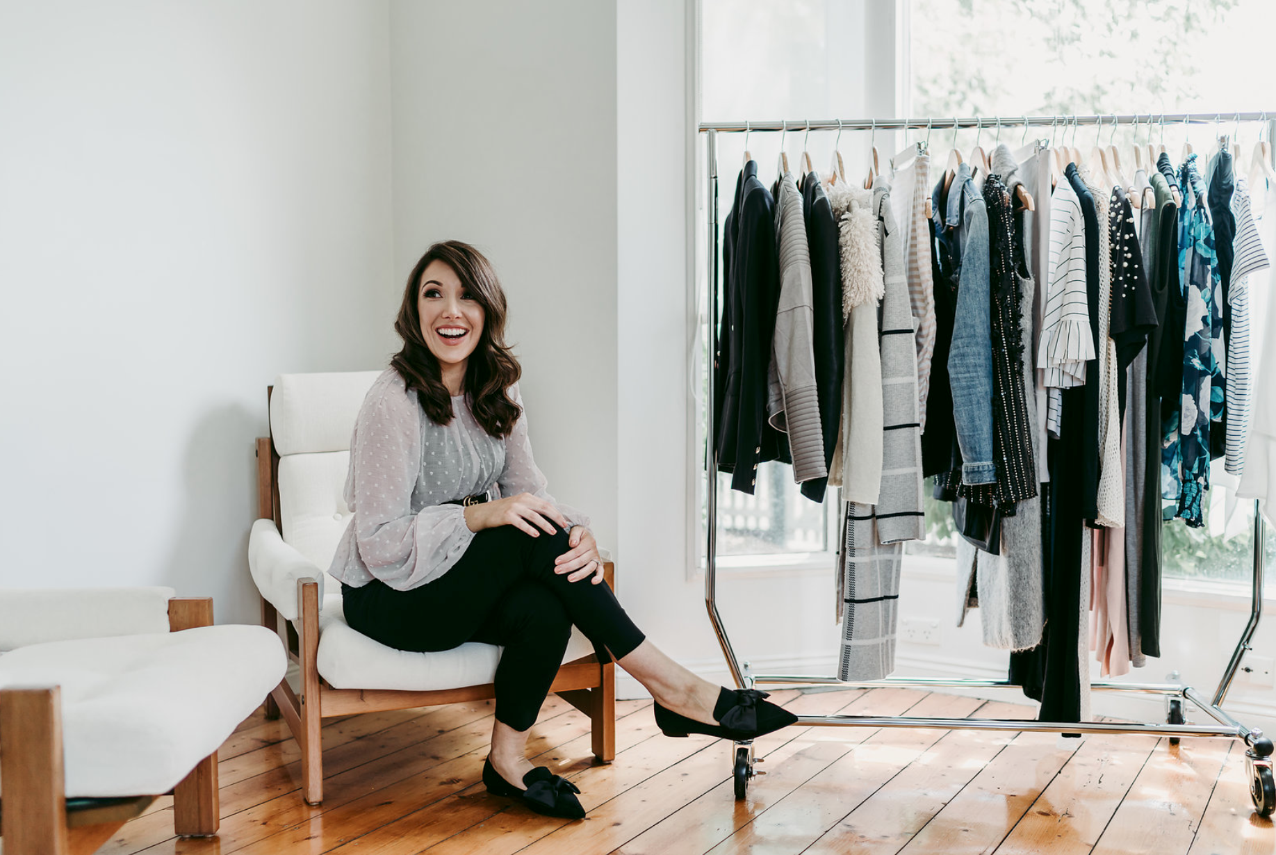 Q&A: Curate and Style your Life and Wardrobe with Jessica Ryan - Jessica Ryan is a mumma, a biz owner and a fashion guru who is all about curating your style with authenticity. She talks about losing her identity after becoming a mum, finding it again, chasing her passions and helping other women do the same.