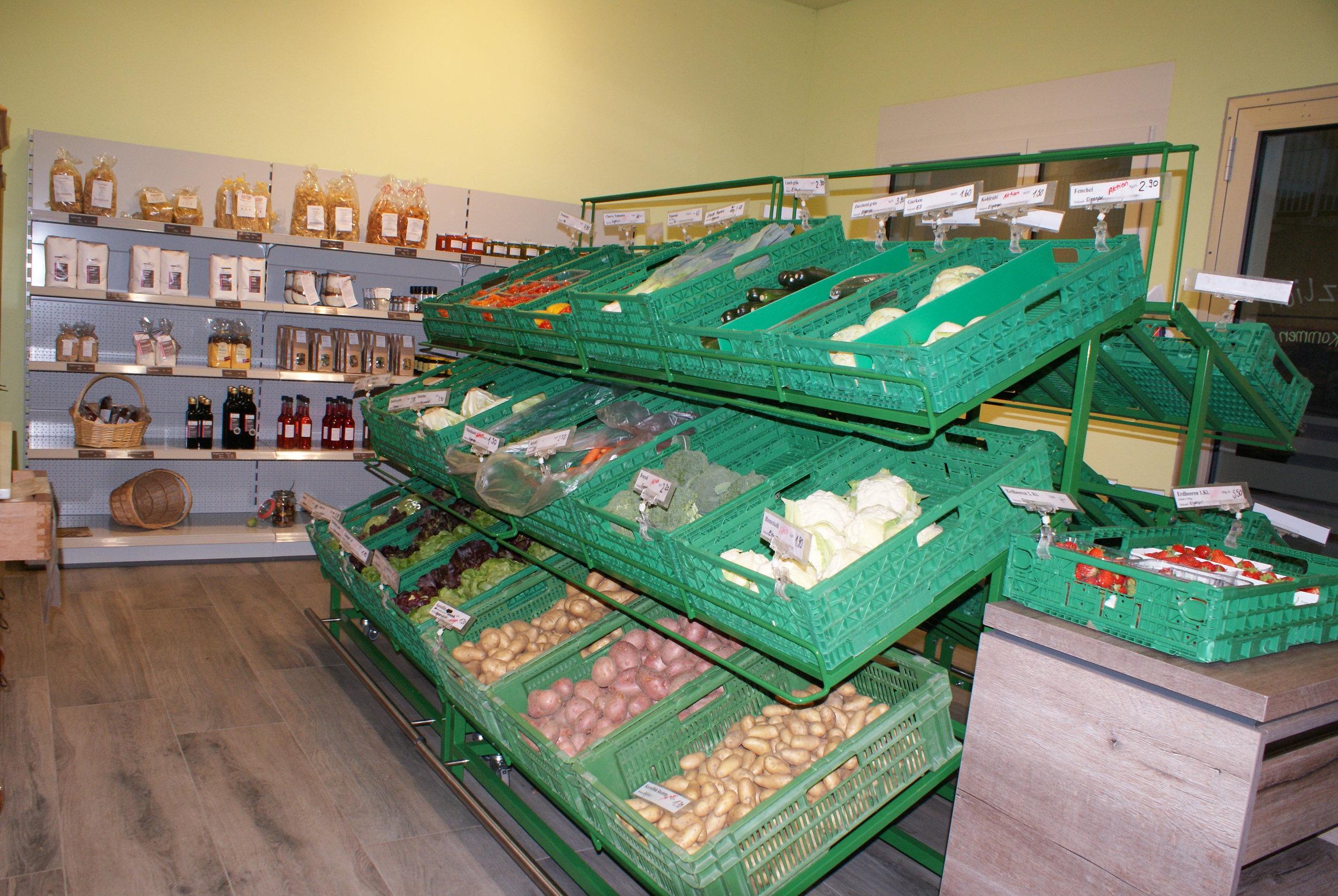 Hofladen - Vielseitiges Angebot in unserem Hofladen an der Gass 10 in Triengen