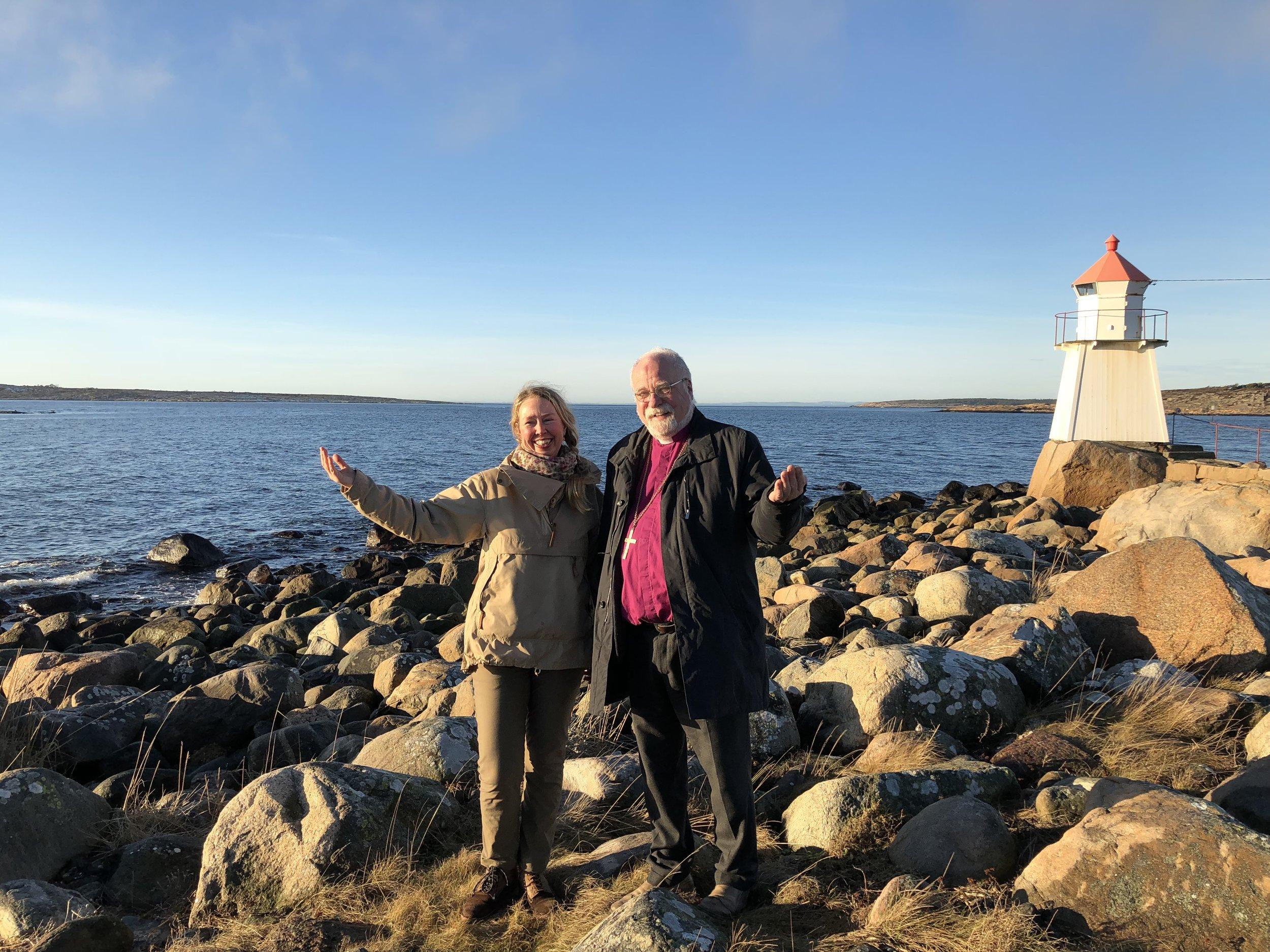 Solveig Egeland and Atle Sommerfeldt. Photo: Mari Tefre