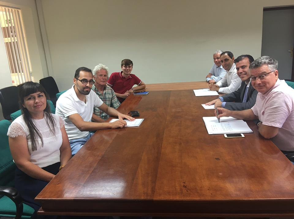 Meeting with Fredrick Azzopardi to discuss Central Link Project and future relations.