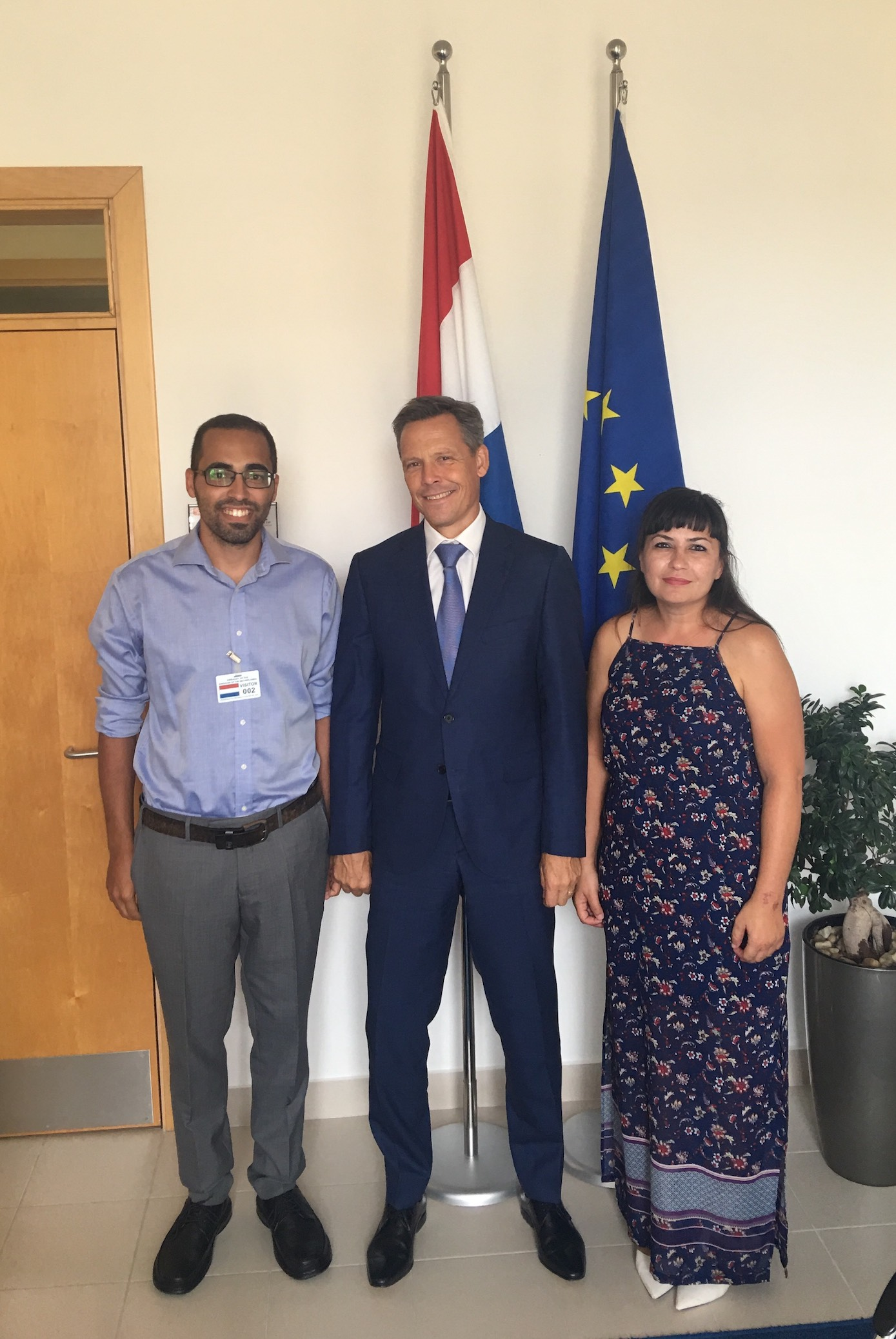 - The Bicycle Advocacy Group has been cordially invited by the Dutch Ambassador Frank Keurhorst for a meeting at the Dutch Embassy in Ta' Xbiex, on Thursday 13thof September, 2018. During this meeting, the need for better cycling infrastructure in Malta was discussed, together with suggestions on how the embassy can support the group in raising cycling popularity in Malta and in organising events to reach out to the Dutch and Maltese cycling community. The Dutch ambassador vouched his support on appealing to the Maltese authorities to facilitate cycling as a sustainable mode of transport in Malta.