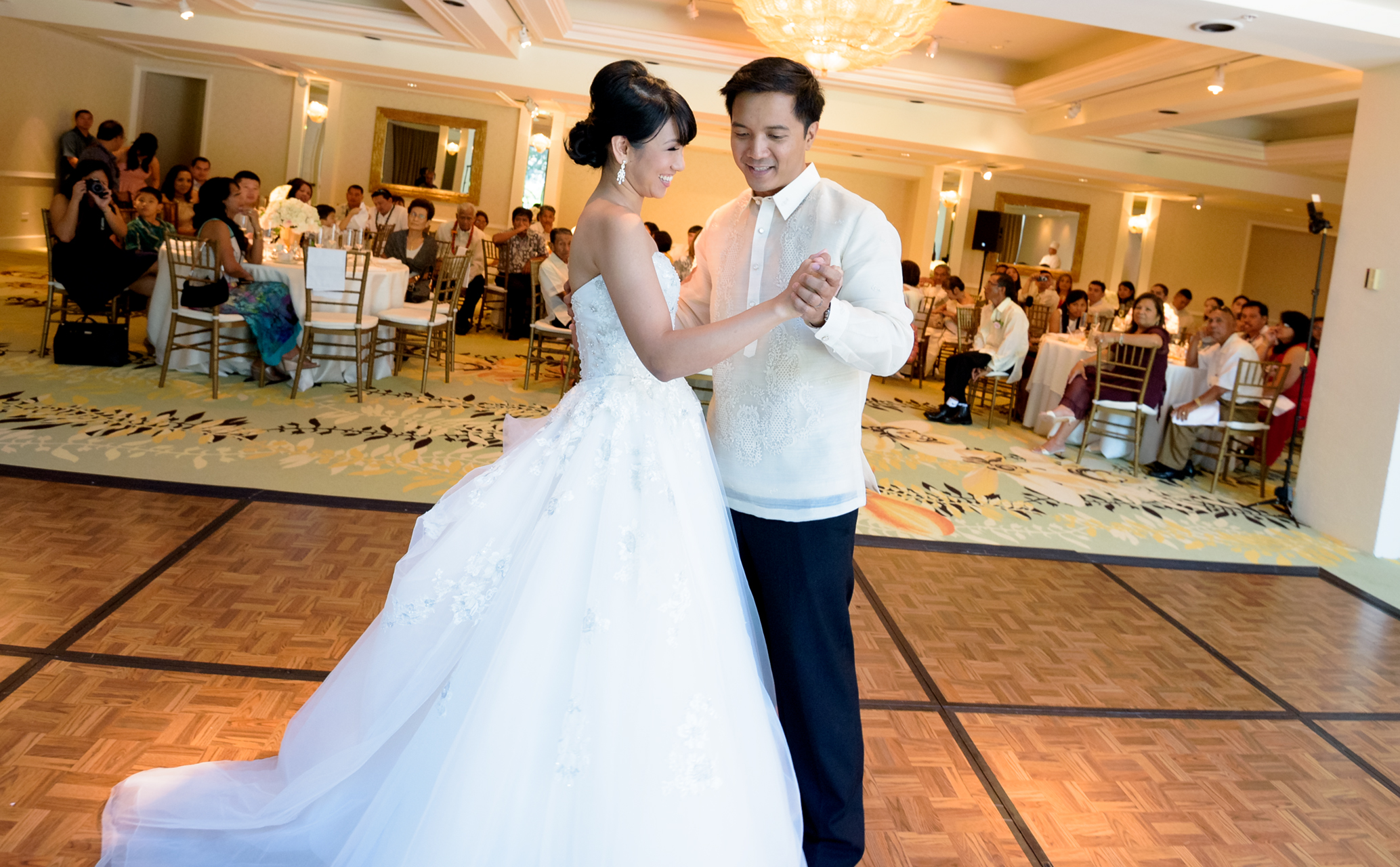 The first dance at The Kahala Hawaii
