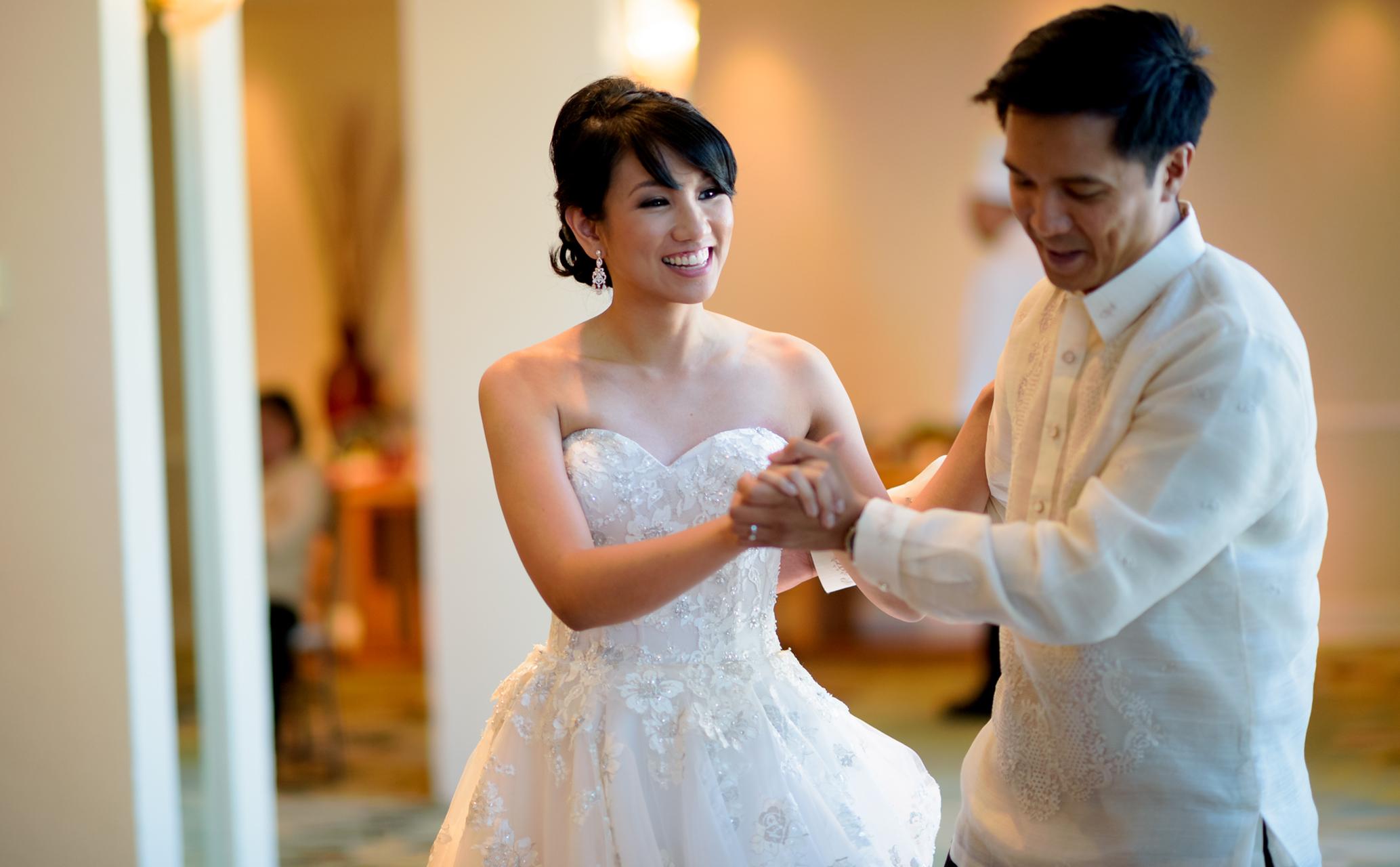 Wedding reception at The Kahala Hawaii Hawaii