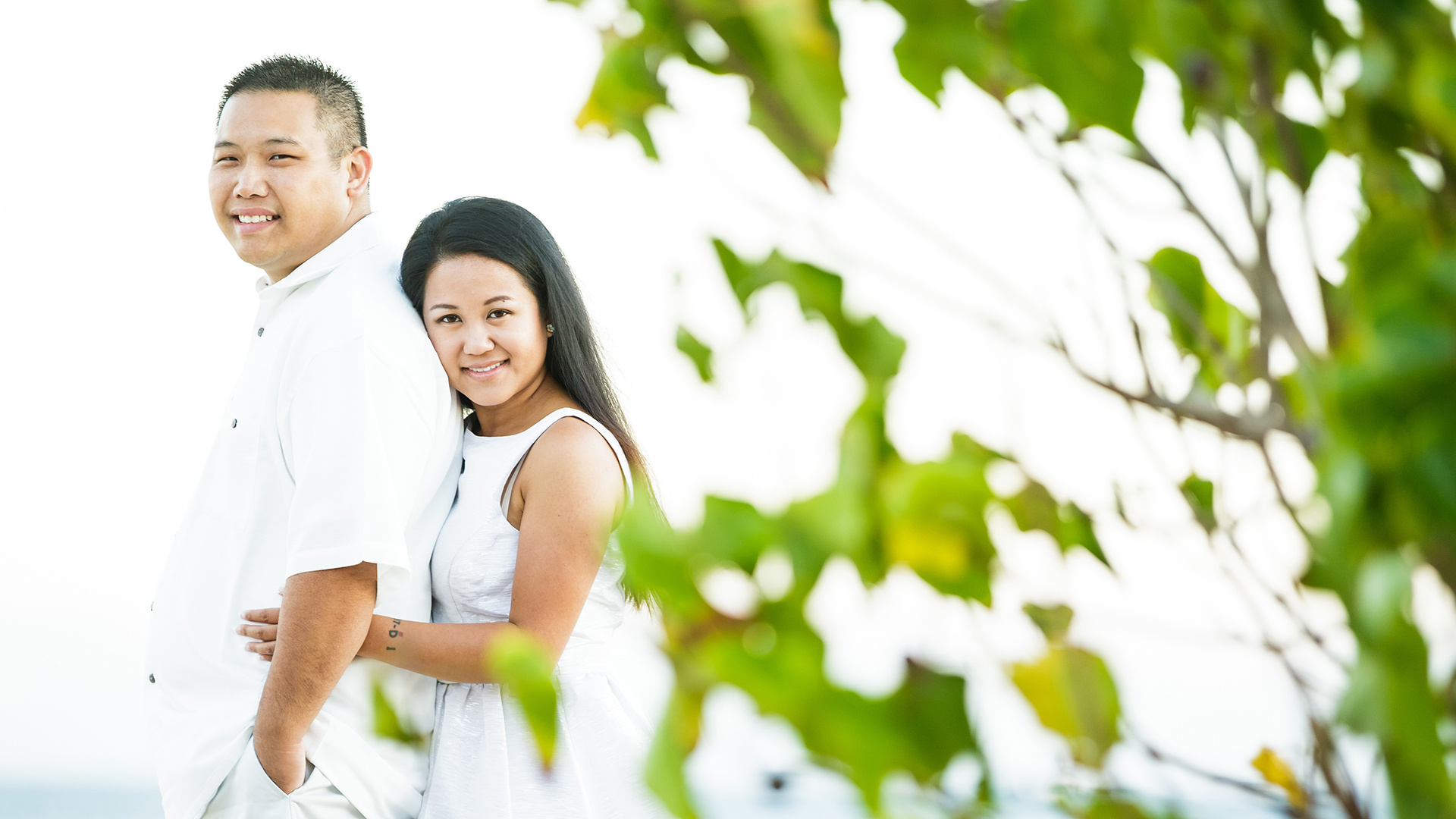Engagement session in Hawaii.