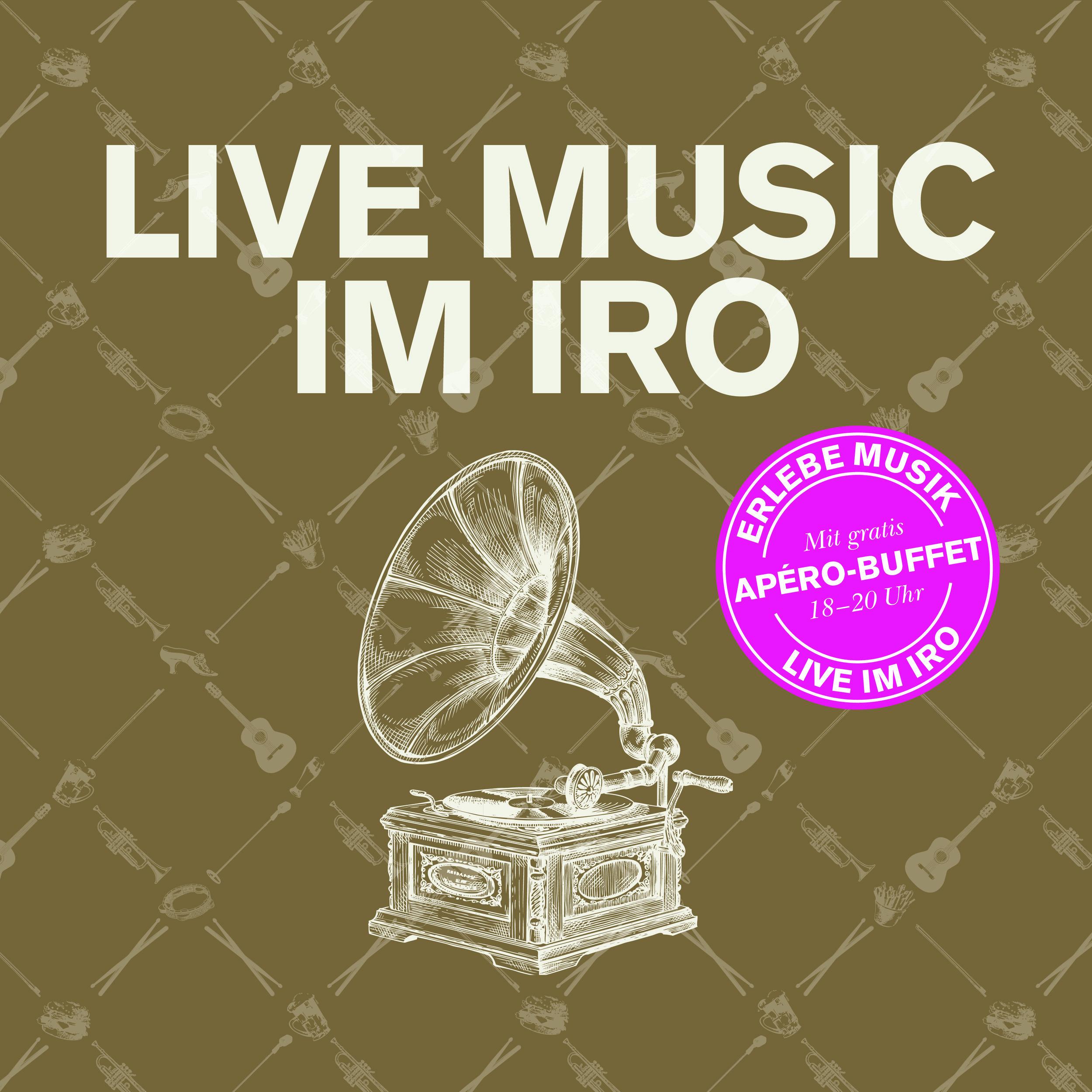Ear Sin - Live Konzert im IRO! Jeden 2. und 4. Am Mittwoch, 22. Mai mit Ear Sin.